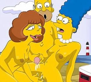 Sexy girlfriends for Homer