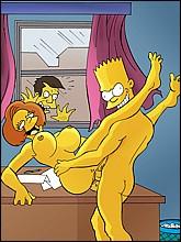 Drawn pussies for u! : Marge Simpson Springfield Sluts