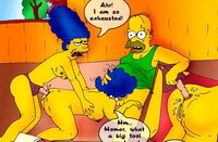 Simpsons beside Kim Possible : Mixed Porn Comics The Simpsons