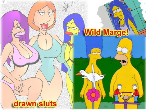 Marge as mature hooker