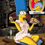 Marge Simpson as Playboy Star