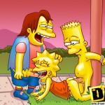 the simpsons sex - nelson muntz and bart fucks lisa