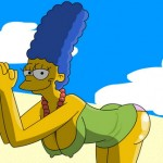 Stripshow by Marge Simpson