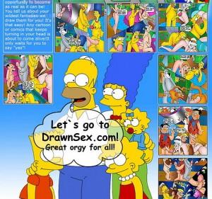 The Simpsons Family - sex cartoon website