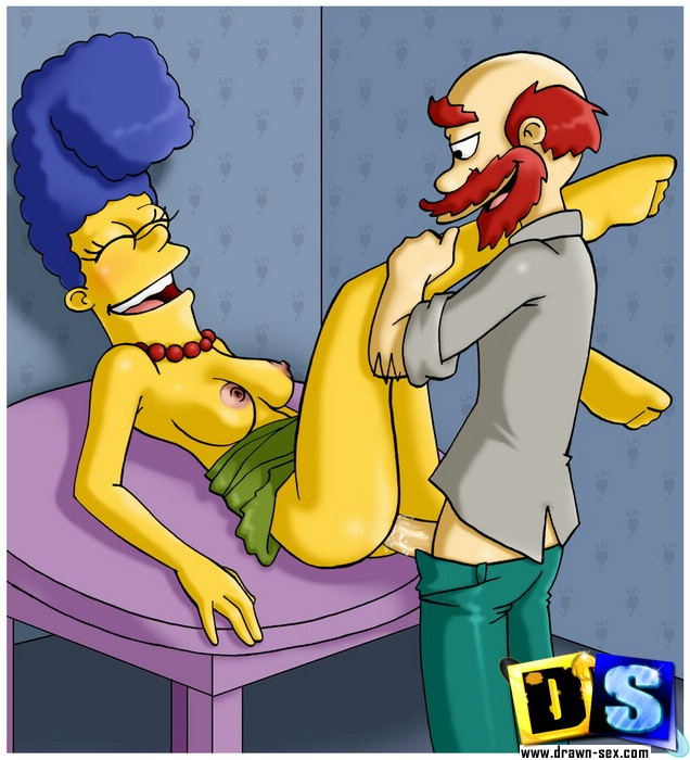 Simpsons City Fucking - marge dirty slut