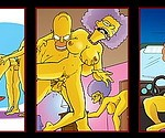 Cool Simpsons for fans - Bouviers : Homer Simpson Patty and Selma Springfield Sluts