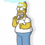dirty mind of homer simpson