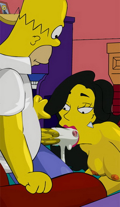 Springfield Sluts - home xxx stories : Edna Krabappel Patty and Selma Springfield Sluts