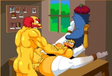 New Simpsons sex cartoons : The Simpsons