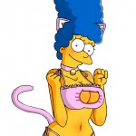 The simpsons artwork hentai : Marge Simpson