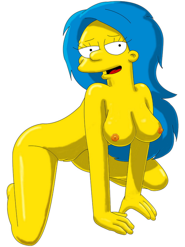 simpsons sexy naked fakes