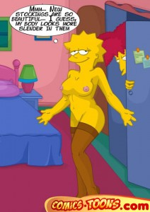 Comics & Toons with Hot Simpsons