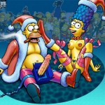 Christmas Sex Party of the Simpsons