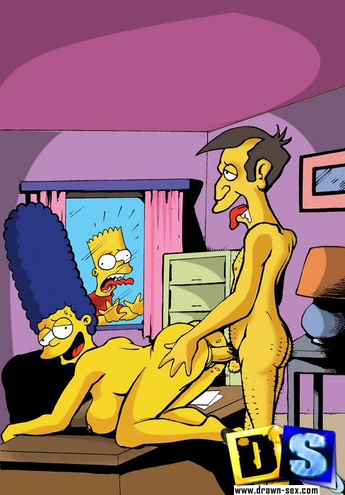 Simpsons Porn Scene Marge Fucking From Springfield Sluts Simpson