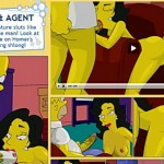 Simpsons orgy video
