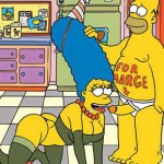 The Simpsons comics porn 2012 : Marge Simpson Maude Flanders Ned Flanders Patty Bouvier Selma Bouvier Springfield Sluts The Simpsons