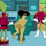 Futurama sex like Simpsons style : Other Porn Comics