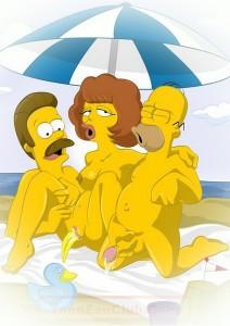 Simpsons porn hentai