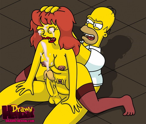 Homer likes a blowjob