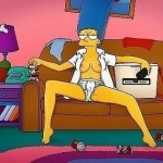 Sex dream of Marge : Marge Simpson