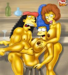 Hot Simpsons porn : Other Porn Comics