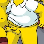 Simpsons porn hentai : Groundskeeper Willie Homer Simpson Marge Simpson Springfield People