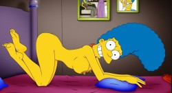 Marge Simpson sexy pose