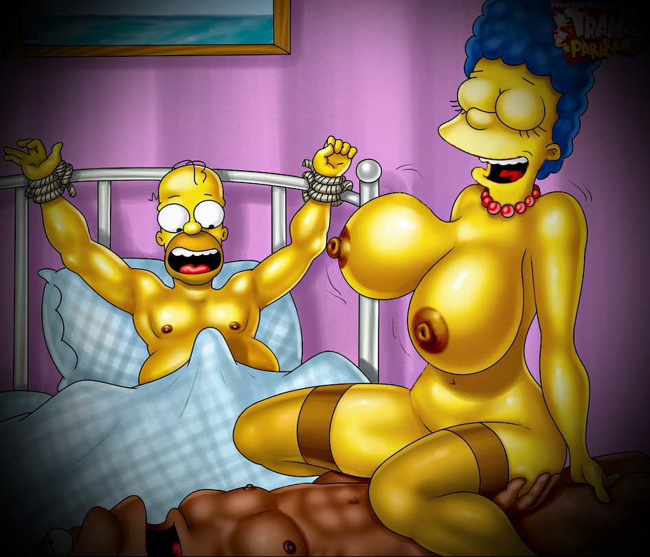 The Lisa simpson cartoon porn tram