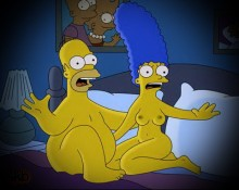 Other Simpsons sex comics : The Simpsons