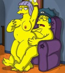 Hot Springfield Sluts : Edna Krabappel Springfield Sluts