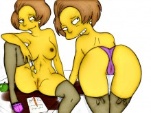 Springfield bitch #1 : Edna Krabappel Springfield Sluts