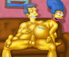 Marge Simpson sexy scene : Marge Simpson