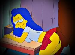 Marge Simpson sexy scene