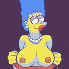 Sinful wife : Marge Simpson