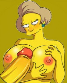 Mature slut : Edna Krabappel Springfield Sluts