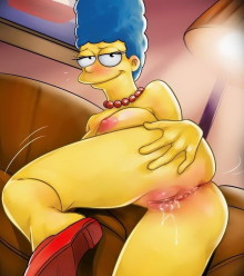 Dirty sex with Marge Simpson : Marge Simpson