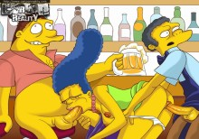 Sex with Simpsons : Marge Simpson