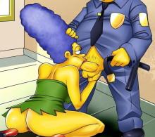 Marge Simpson wild nights : Marge Simpson