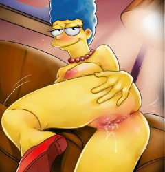 Marge Simpson wild nights04