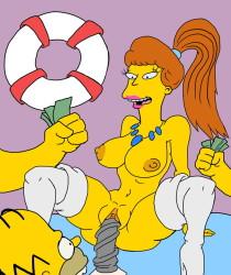Homer fucks cartoon girl02